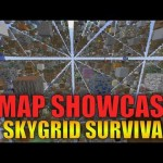 Minecraft Nintendo Switch: Skygrid map Download (Survival 2018)
