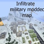 Minecraft Nintendo Switch: Military Base – Modded map Download