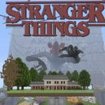 Minecraft Nintendo Switch: Stranger Things Modded map Download